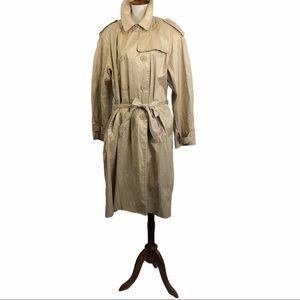Berghaus Trench Coat Beige Shimmer Belted Raincoat